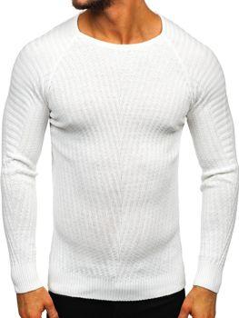 Biely pánsky sveter Bolf  285