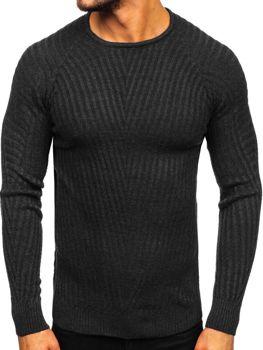 Čierny pánsky sveter Bolf  285