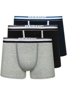 3 ks farebná sada - pánske boxerky Bolf B050-3P