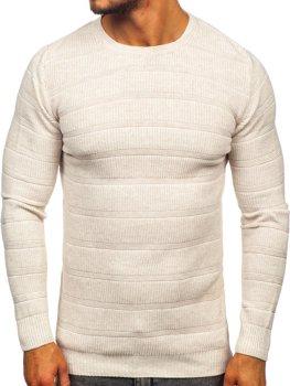 Béžový pánsky sveter Bolf 4357