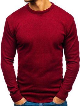 Bordový pánsky sveter BOLF 6001 de9388995a