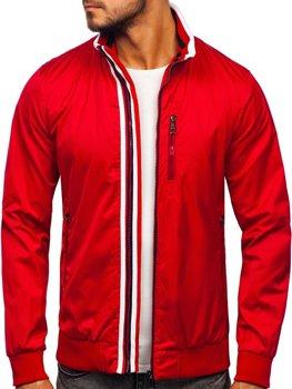 Červená pánska prechodná bunda Bolf Bolf K01