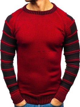 Červený pánsky sveter BOLF 6007