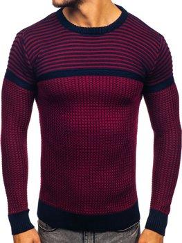 Červený pánsky sveter Bolf 1013