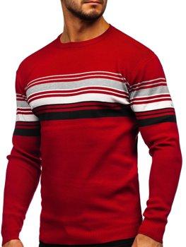 Červený pánsky sveter Bolf H2061