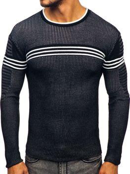 Čierny pánsky sveter Bolf 0001