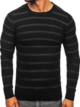 Čierny pánsky sveter Bolf 4356
