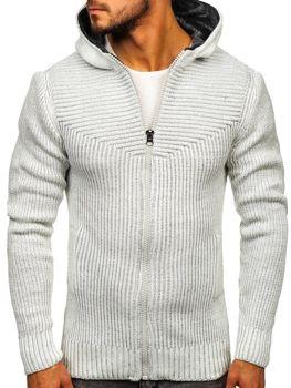 Ecru pánsky sveter BOLF 20008