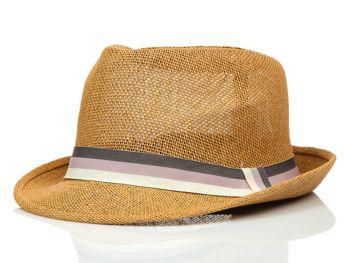 Hnedý pánsky klobúk BOLF KAP214