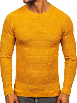 Kamelový pánsky sveter Bolf 4357