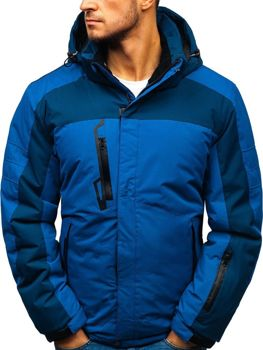25531ef845ef Modrá pánska lyžiarska zimná bunda BOLF HZ8112
