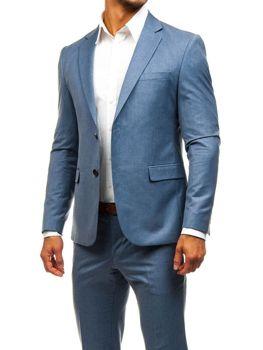 Modrý pánsky oblek BOLF 2000 b2f3dfd687