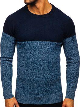 Modrý pánsky sveter Bolf H1809
