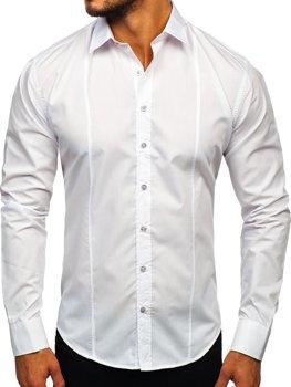 Pánska košeľa BOLF 4705G biela