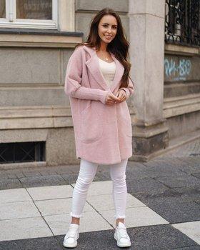 Ružový dámsky plášť Bolf 7108