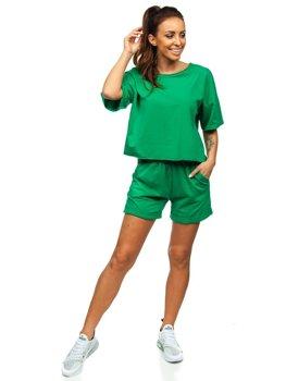 Zelená dámska tepláková súprava Bolf 6256