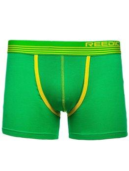 Zelené pánske boxerky BOLF G513