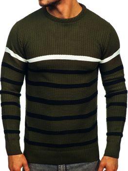 Zelený pánsky sveter Bolf 1951