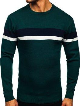 Zelený pánsky sveter Bolf H2072