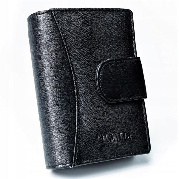 Čierna dámska kožená peňaženka 2774