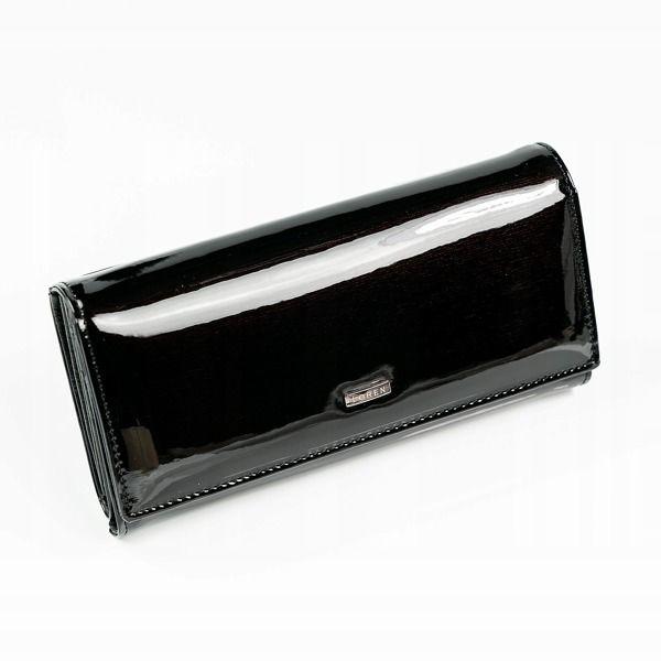 Čierna dámska kožená peňaženka 889