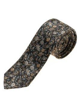 Čierna pánska elegantná kravata BOLF K100