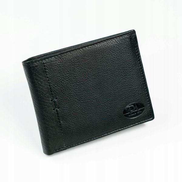 Čierna pánska kožená  peňaženka 874