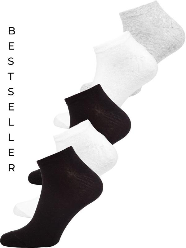 Farebné pánske kotníkové ponožky Bolf X10161-5P 5KS