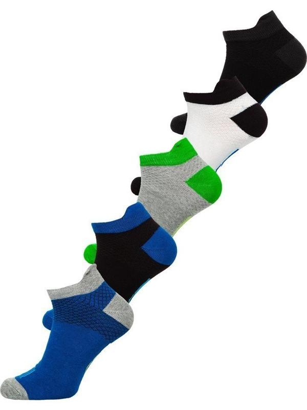 Farebné pánske ponožky BOLF X10052-5P 5 KS