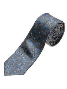 Grafitová pánska elegantná kravata BOLF K105