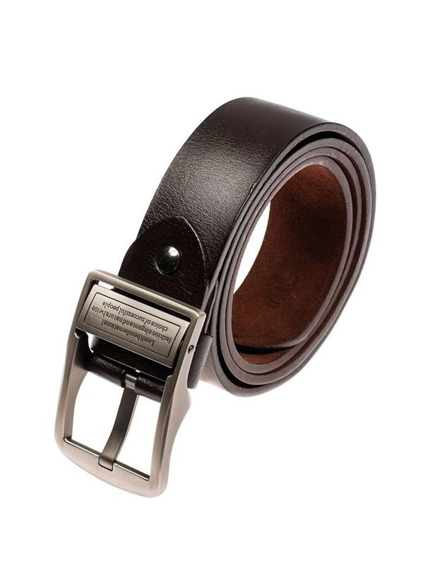 Hnedý pánsky kožený opasok BOLF P007-A