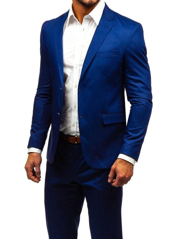 Indigo pánsky oblek BOLF 172000