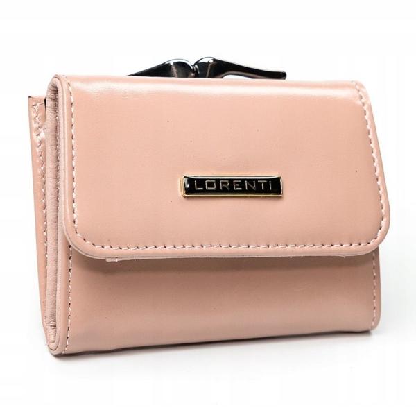 Lososová dámska kožená peňaženka 2862