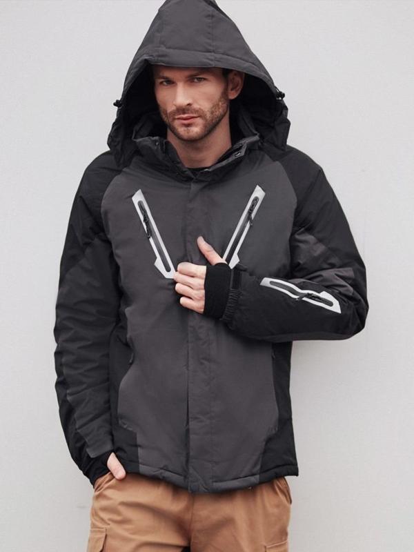 Štylizácia č. 404 - lyžiarska bunda, kapsáče