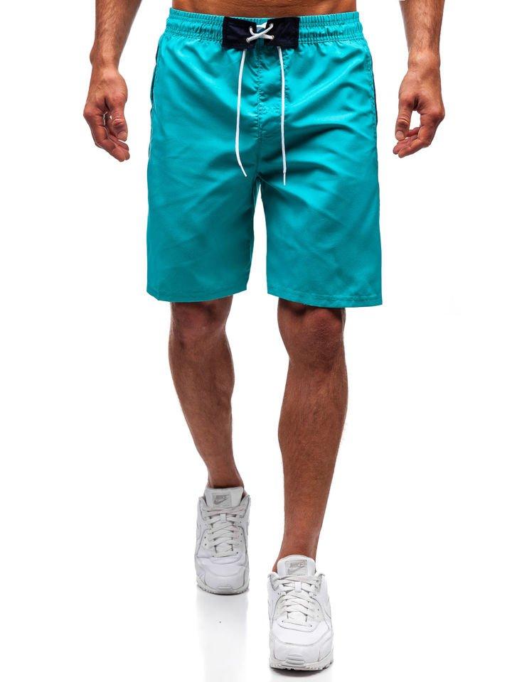 2d75b7feca7 Zelené pánske kúpacie šortky BOLF 306