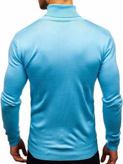 Blankytný pánsky sveter / rolák BOLF 2400
