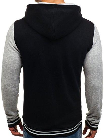 Čierna pánska prechodná bunda BOLF 07S