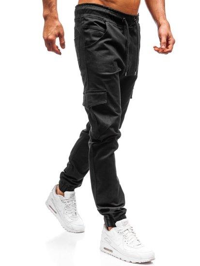 Čierne pánske jogger kapsáče BOLF 0404