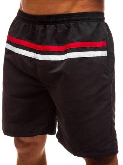 Čierne pánske kúpacie šortky BOLF Y765