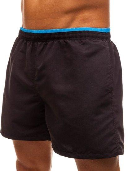 Čierne pánske kúpacie šortky BOLF Y768