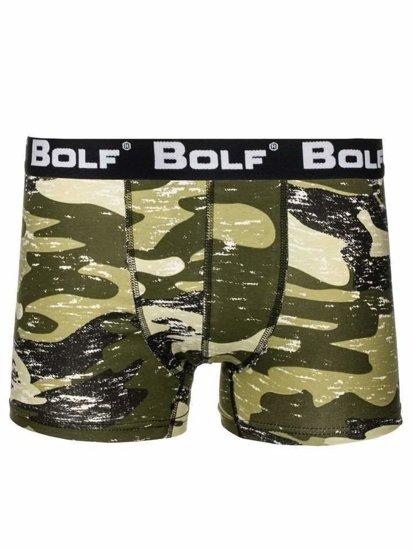 Farebné pánske boxerky BOLF 0953-4P 2 KS