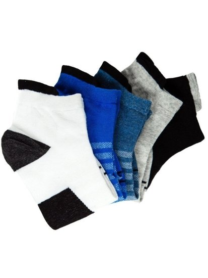 Farebné pánske ponožky BOLF X10135-5P 5 KS