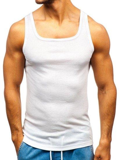 Farebné pánske tričko bez potlače BOLF C10050-3P 3 KS