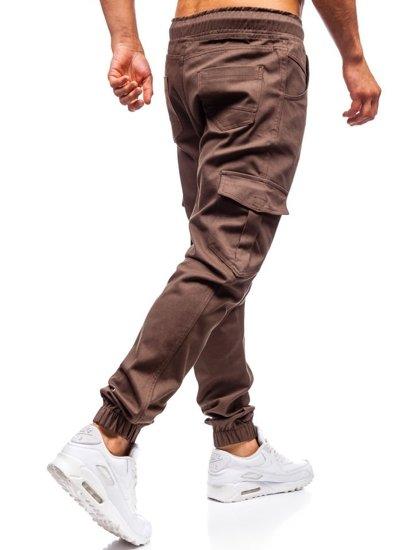 Hnedé pánske jogger kapsáče BOLF 0404