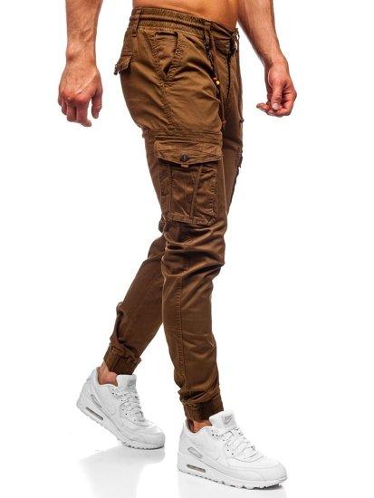 Hnedé pánske kapsáčové joggery Bolf CT6703