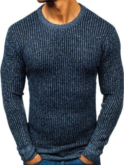 Modrý pánsky sveter BOLF H1818