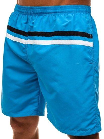 Svetlomodré pánske kúpacie šortky BOLF Y765