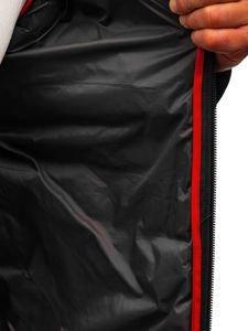 Grafitová pánska športová prechodná bunda BOLF LY1020