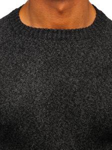 Grafitový pánsky sveter Bolf H1929