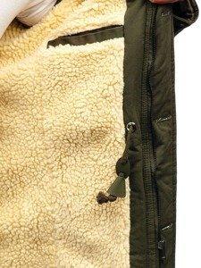 Khaki pánska zimná bunda parka BOLF 88709